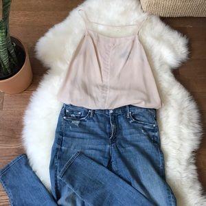 Nordstrom Trouve Silk camisole